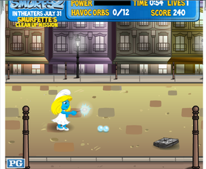 Smurfettes_clean_up_mission